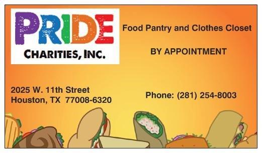 Contact Pride Charities